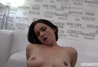 Dark haired woman, Eli is fucking her best friend's husband, because she likes his cock