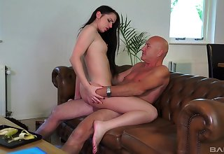 Riding step daddy is quite a challenge
