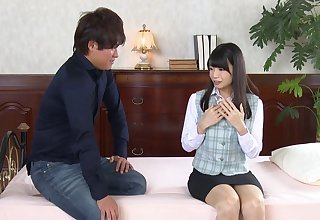 Fucking in hammer away sky hammer away sofa with closely-knit knockers Japanese Rie Takimoto. HD