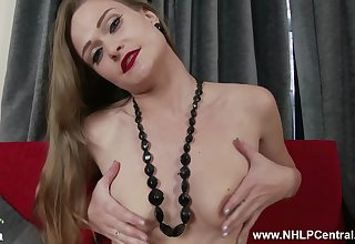 Horny vintage MILF loves to talk dirty to us.