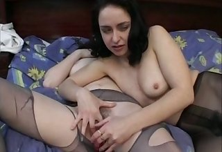 Giggling mature amateur whores play there obese boobies and tease cunts