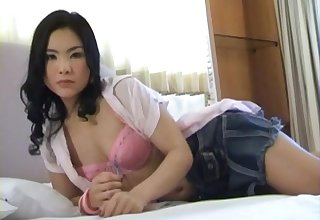 Exotic Korean MILF Uses Her Toy To Sky Arouse Profoundly
