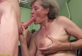 Hairy moms waggish rough big cock sexual relations