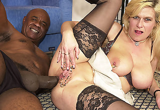 stepmom irritant destroyed off out of one's mind a monster cock