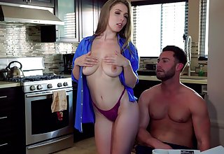 Busty babe Lena Paul fucks masterfully and with passion