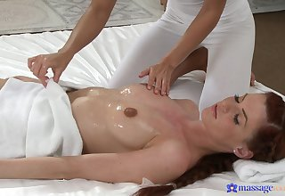 Professional masseuse Lola Myluv breaks the rules with a morose client