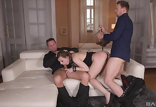 Terrifying double penetration give submissive Lillith Dear