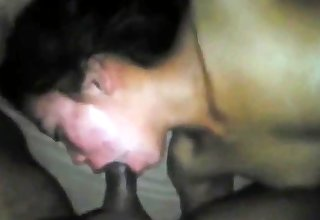 indonesian Maid Gets Fucked In The Mouth Hard By Pakistani