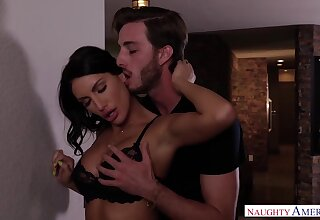 Slowly emotional glum obscurity August Ames is poked missionary