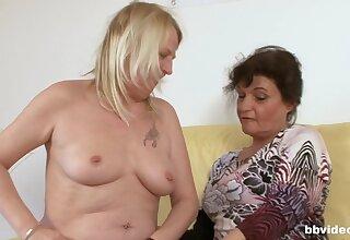 Laconic tits brunette enjoys having kinky sex with an older guy