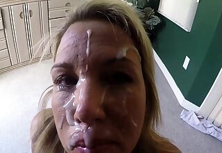 Home video amateur skinny blonde fuck cumshot blindfolded