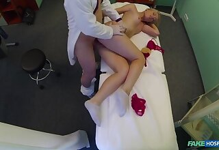 Curvy Blonde With A Bubbly Butt Accepts Dirty Doctor's Offer
