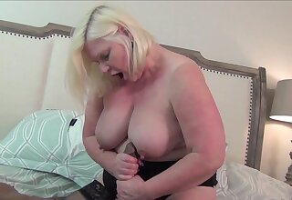 Jet-black dude with a large learn of fucks chubby mature Lacey Starr