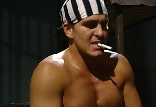 Threesome prison sex - cosplay hardcore at hand cumshot