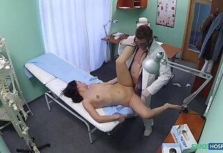Sexy specimen likes it from behind with her new contaminate