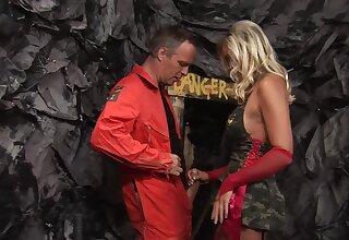 Closeup video of hot pornstar Demi Daniels obtaining fucked hard