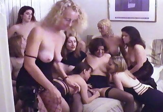 renowned lesbian home sex orgy - amateur wife - gangbang