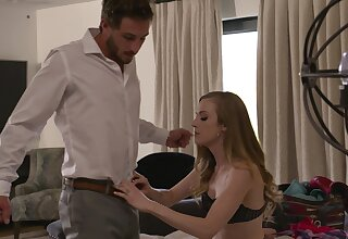 Small tits hottie Karla Kush in amazing lingerie gets fucked hard