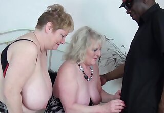 Interracial FFM triptych with Claire Knight and Fiona Knight