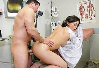Intense anal examination