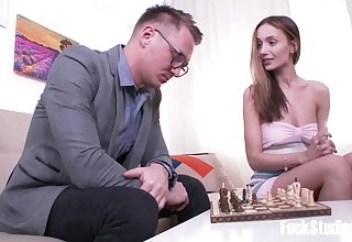 Chess Game Turns Into Intercourse - Hazel Dew