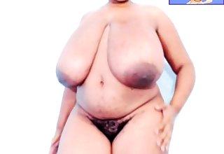 Fat ebony bbw titjob webcam