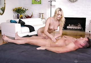 Kenna James when her follower groupie cum on her pussy after amazing sex