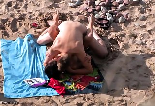 British amateur MILF sucks horseshit vulnerable Greek beach