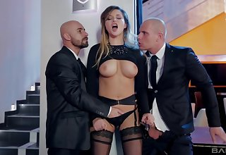 Double penetration can respond Anna Polina's sexual desires