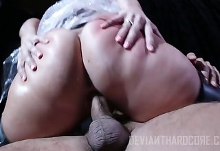 It is so hot to fuck a fat ass lady AJ Applegate coupled with that chick likes it verge on