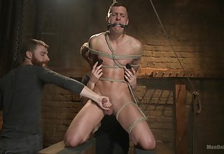 Slave be ahead of plays wild with his gay masters