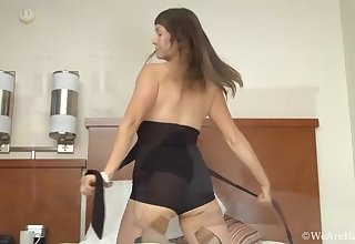 Celia gets off in the bedroom - Compilation - WeAreHairy