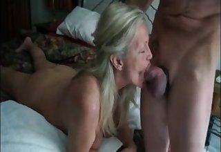 Hot grandma get frowardness fucked by the brush follower groupie