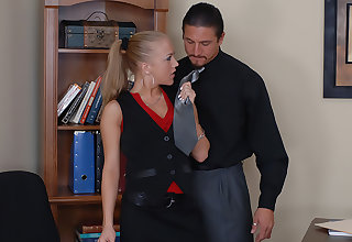 Kylie Wilde gets fucked to get a job