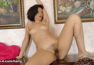 Latisha Minx in Masturbation Glaze - ATKHairy